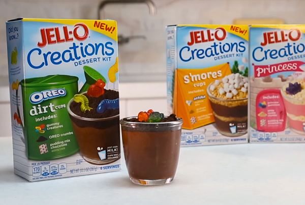 Jell-O Creations Dirt Cups