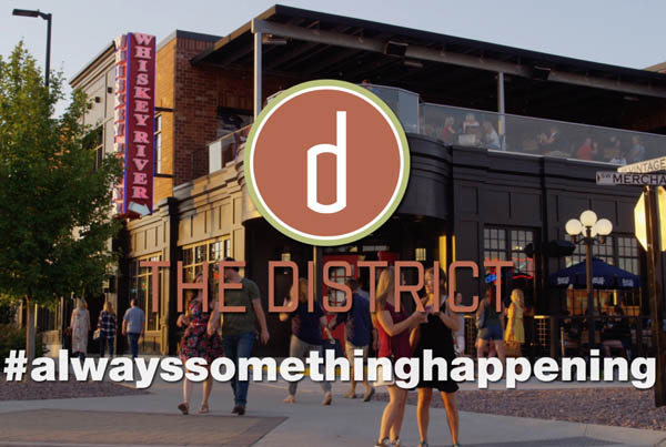 The District – Alway Something Happening